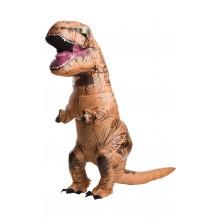 Oppblåsbar T-Rex Karnevalskostyme
