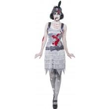 Kostyme Zombie 20-Talls Kjole