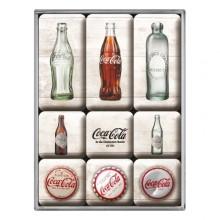 Magnetset Coca-Cola Retro