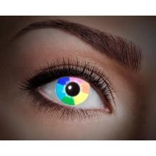Fargede linser UV Rainbow