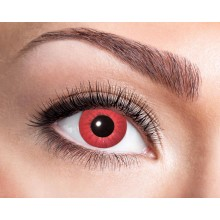 Fargede linser Electro Red