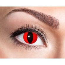 Fargede linser Red Cat