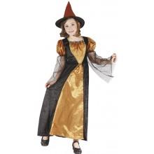 Gylne Hekse Kostymedrakt