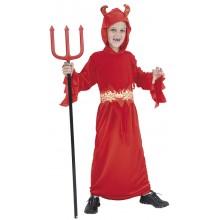 Djevel Barn Kostymedrakt