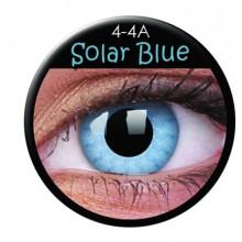 Fargede linser crazy solar blå