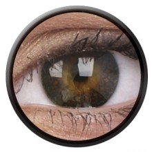 Fargede linser eyelush choco