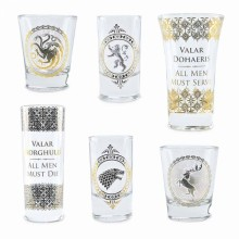 Game Of Thrones Shotglass Premium 6-pack