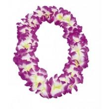 Hawaii Krans Hvit/Lilla