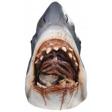 Lateksmaske Hai