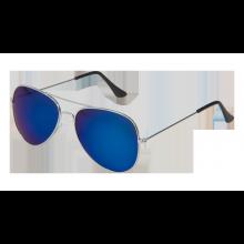 Solbriller Pilot Speilglass Blå