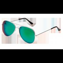 Solbriller Pilot Speilglass Grønn
