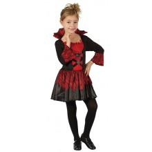 Karnevalskostyme Vampyr Kjole Barn