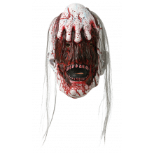 Halloweenmaske HÅNd PÅ Ansikt
