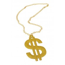 Halsband Dollar Guld