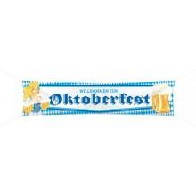 Banner Willkommen Zum Oktoberfest 180x40 cm