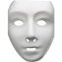 Robotmaske Hvit