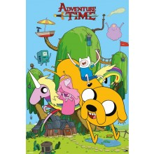 PLAKAT ADVENTURE TIME (HOUSE)