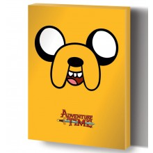 Adventure Time Canvas Jake 40 X 50 Cm