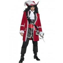Autentisk Pirat Kaptein Kostyme