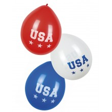 Ballonger USA 6-pakning