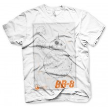 Star Wars Bb-8 Blueprint T-Shirt