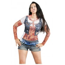 T-SkjorteTatovert Biker Dame