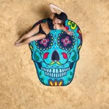 Strandhåndkle Sugar Skull
