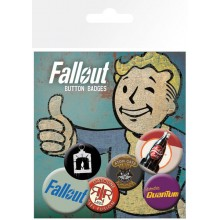 Fallout Buttons 6-Pack