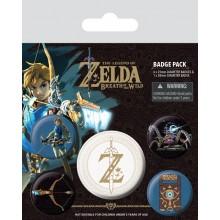 Zelda Knapper 5-pakning