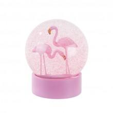 Snøkule Flamingo
