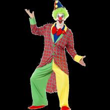 La Circus Deluxe Klovnekostyme