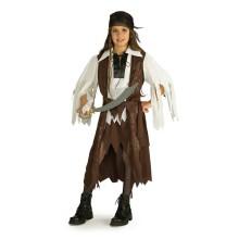 Piratdronning-Kostyme Barn
