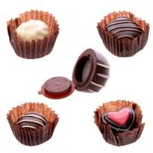 Lipgloss Sjokoladepralin
