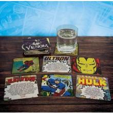 Marvel Comics Drikkeunderlag 20-pakning