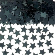 Konfetti Stjerner Svarte