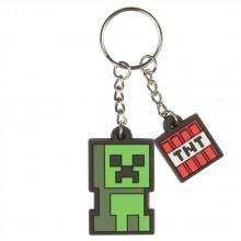 Minecraft Creeper Sprite Nøkkelring