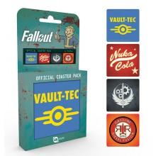 Fallout 4 Drinkunderlag 4-pakning
