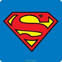 Drikkebrikke Superman Logo