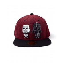 Star Wars Darth Vader & Stormtrooper Pixel Snapback Caps