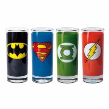 DC Comics Glas 4-pack
