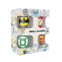 DC Comics Shotsglass 4stk