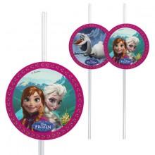 Sugerør Frozen 6-pakning