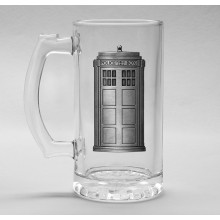 Doctor Who Ølglass
