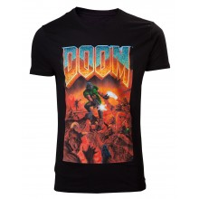 Doom Classic Box Art T-skjorte