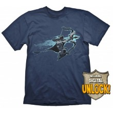 T-Skjorte DOTA 2 Drow Ranger + Digital Unlock