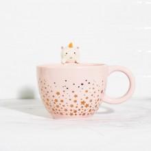 Enhjørning-kopp Elodie Stjerner