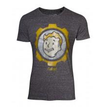 Fallout Vault Boy Vintage T-skjorte