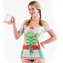 Oktoberfest T-skjorte Dame