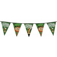 Flaggirlander Stor St. Patrick's Day 8m