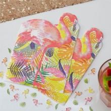 Servietter Flamingo Deluxe 20-Pakning